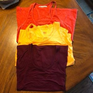Tops - Lot of three tank tops. All mediums